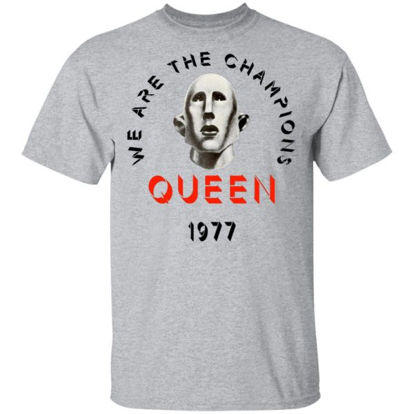 Queen We Are The Champions Queen 1977 Shirt, Hoodie, Tank Apparel 5