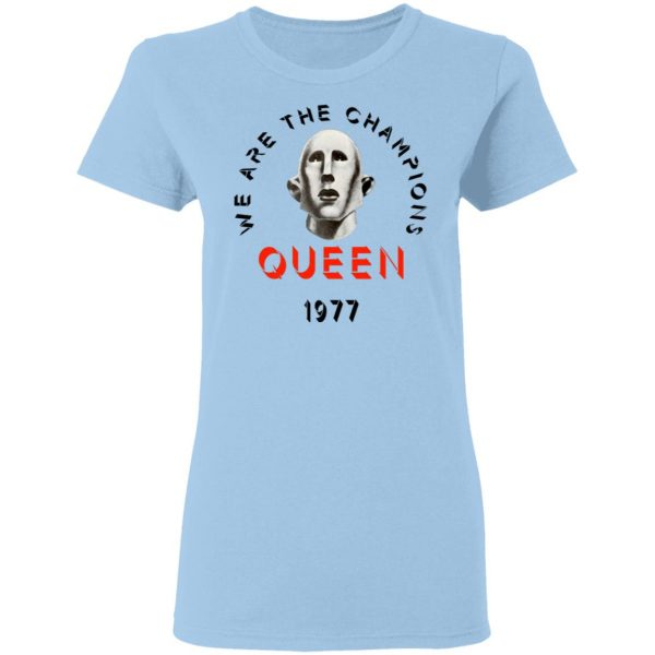Queen We Are The Champions Queen 1977 Shirt, Hoodie, Tank Apparel 6