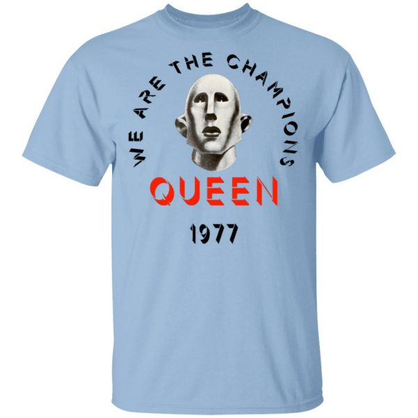 Queen We Are The Champions Queen 1977 Shirt, Hoodie, Tank Apparel 3