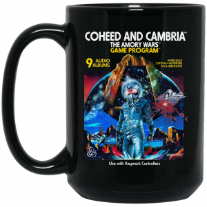 Coheed And Cambria The Amory Wars Game Program Mug Coffee Mugs 2