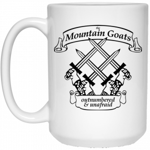 The Mountain Goats Outnumbered And Unafraid Mug Coffee Mugs 2