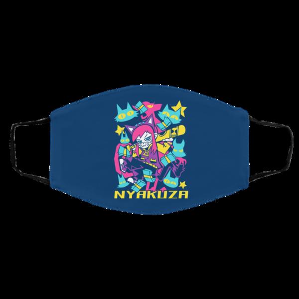 A Hat in Time Nyakuza Metro Long Face Mask Face Mask 13