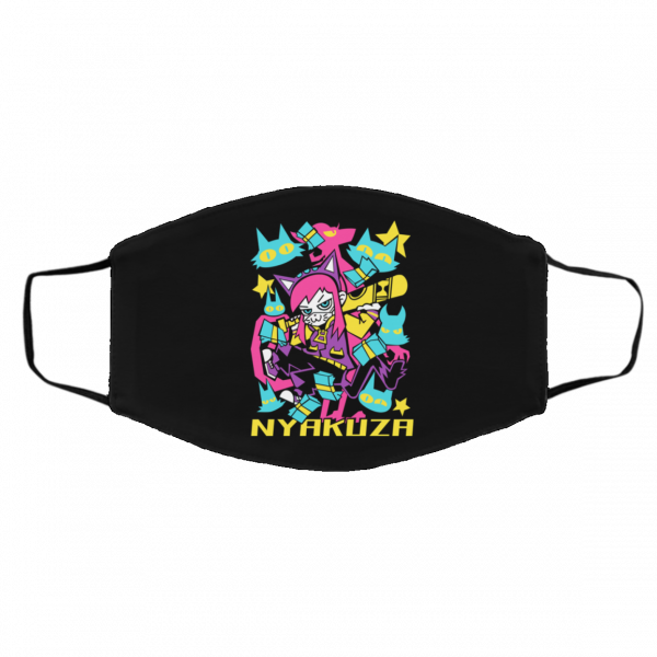 A Hat in Time Nyakuza Metro Long Face Mask Face Mask 5
