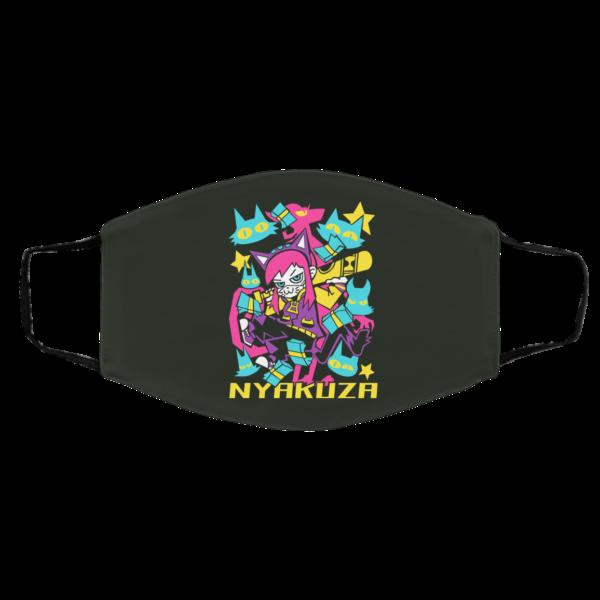 A Hat in Time Nyakuza Metro Long Face Mask Face Mask 7