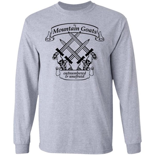 The Mountain Goats Outnumbered And Unafraid Shirt, Hoodie, Tank Apparel 9