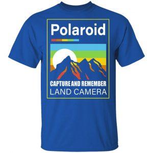 Polaroid Capture And Remember Land Camera Shirt, Hoodie, Tank Apparel