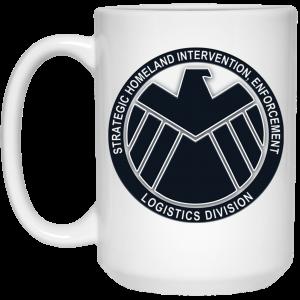 Strategic Homeland Intervention Enforcement And Logistics Division Mug Coffee Mugs 2