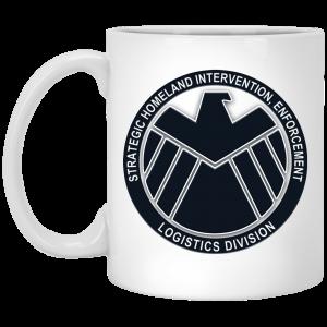 Strategic Homeland Intervention Enforcement And Logistics Division Mug Coffee Mugs