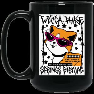 Wicca Phase Springs Eternal Cat Spells Mug Coffee Mugs 2