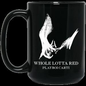 Whole Lotta Red Playboi Carti Merch Mug Coffee Mugs 2