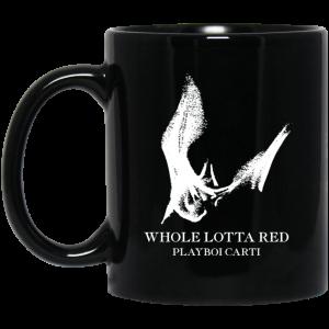 Whole Lotta Red Playboi Carti Merch Mug Coffee Mugs