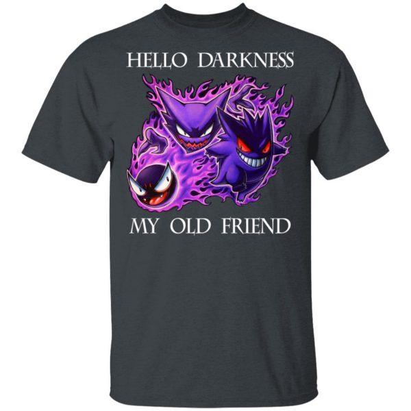 Hello Darkness My Old Friend Gengar Pokemon Shirt, Hoodie, Tank Apparel 4