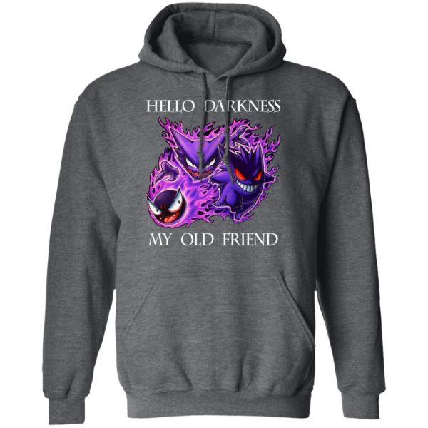 Hello Darkness My Old Friend Gengar Pokemon Shirt, Hoodie, Tank Apparel 13
