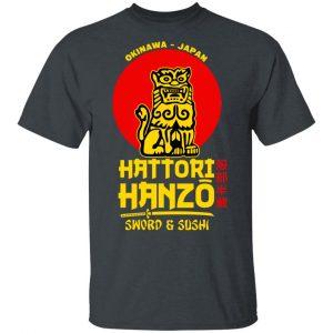Hattori Hanzo Sword & Sushi Okinawa Japan Shirt, Hoodie, Tank Apparel 2