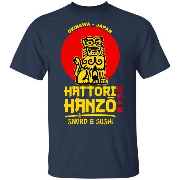 Hattori Hanzo Sword & Sushi Okinawa Japan Shirt, Hoodie, Tank Apparel 5
