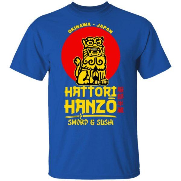 Hattori Hanzo Sword & Sushi Okinawa Japan Shirt, Hoodie, Tank Apparel 6
