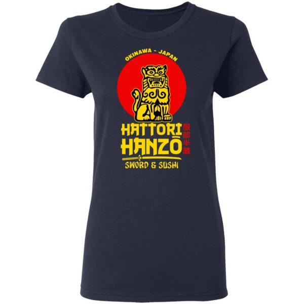 Hattori Hanzo Sword & Sushi Okinawa Japan Shirt, Hoodie, Tank Apparel 9