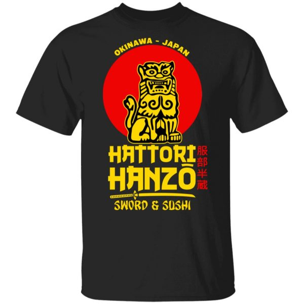 Hattori Hanzo Sword & Sushi Okinawa Japan Shirt, Hoodie, Tank Apparel 3