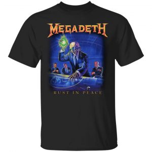 Megadeth Rust In Peace Shirt, Hoodie, Tank Apparel