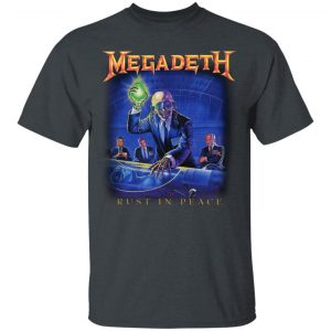 Megadeth Rust In Peace Shirt, Hoodie, Tank Apparel 2