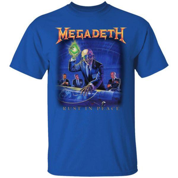Megadeth Rust In Peace Shirt, Hoodie, Tank Apparel 6
