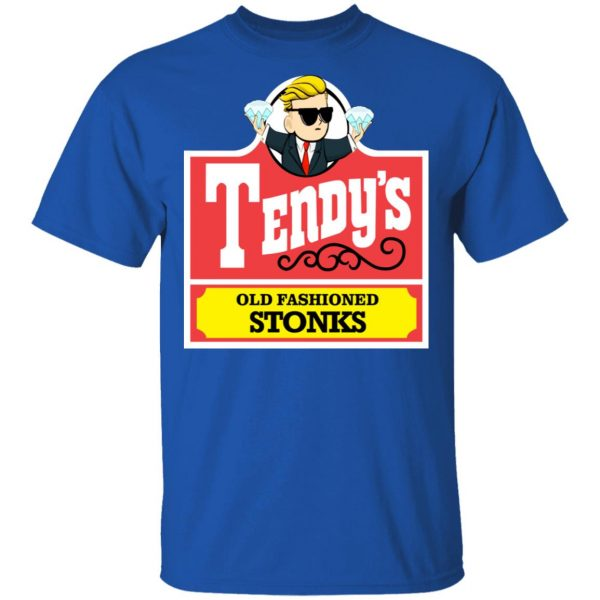 Tendy's Old Fashioned Stonks Shirt, Hoodie, Tank Apparel 6