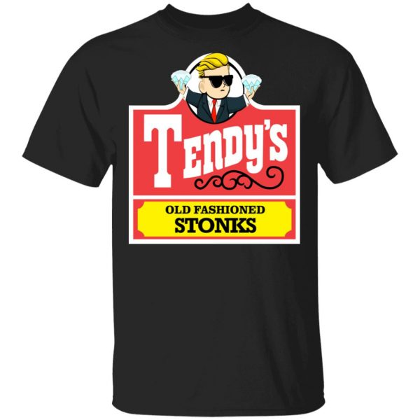 Tendy's Old Fashioned Stonks Shirt, Hoodie, Tank Apparel 3
