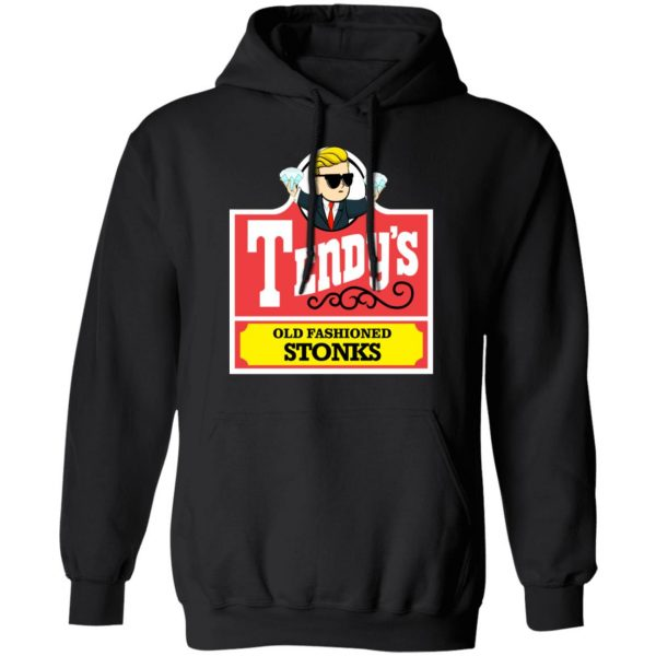 Tendy's Old Fashioned Stonks Shirt, Hoodie, Tank Apparel 11