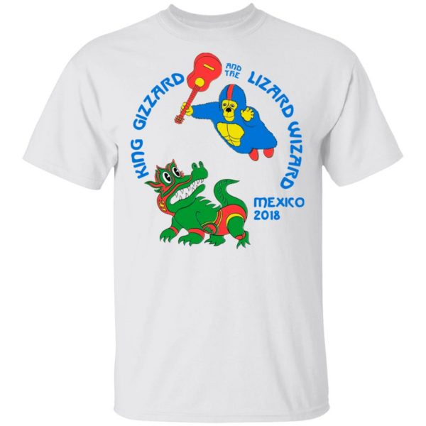 King Gizzard And The Lizard Wizard Mexico 2018 Shirt, Hoodie, Tank Apparel 4
