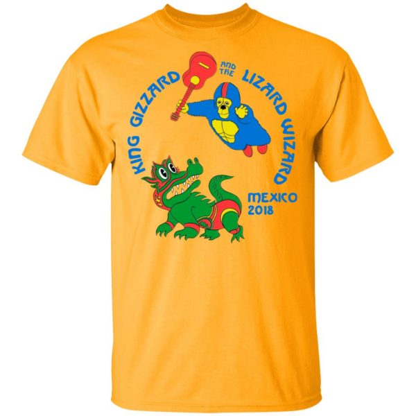 King Gizzard And The Lizard Wizard Mexico 2018 Shirt, Hoodie, Tank Apparel 5