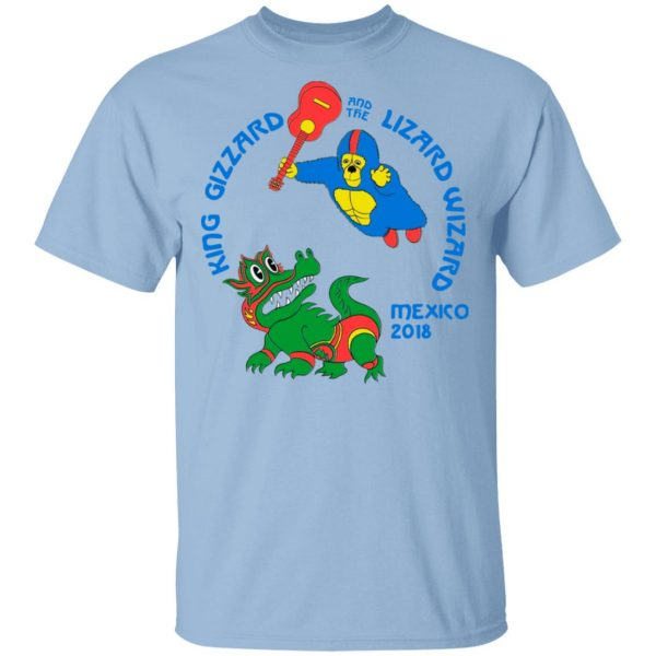King Gizzard And The Lizard Wizard Mexico 2018 Shirt, Hoodie, Tank Apparel 3
