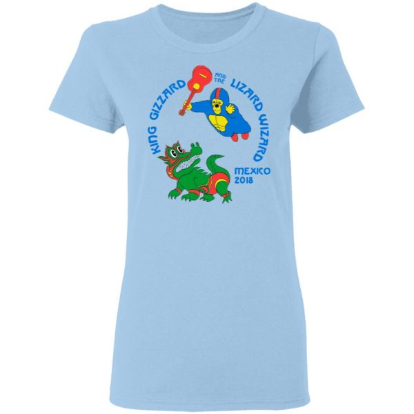 King Gizzard And The Lizard Wizard Mexico 2018 Shirt, Hoodie, Tank Apparel 7