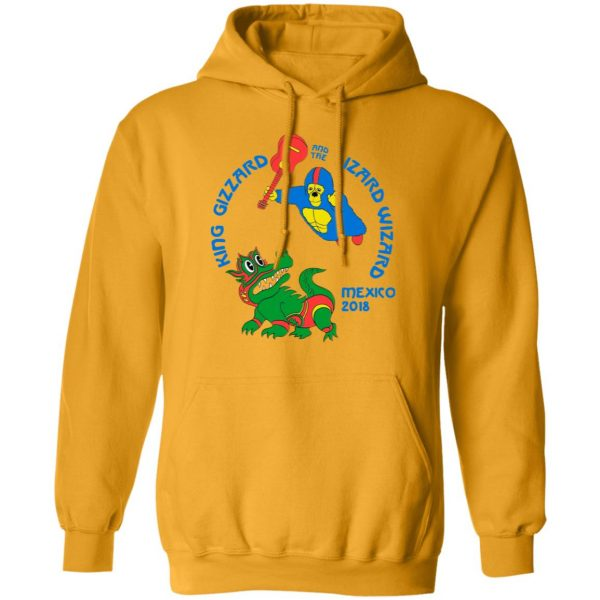 King Gizzard And The Lizard Wizard Mexico 2018 Shirt, Hoodie, Tank Apparel 17