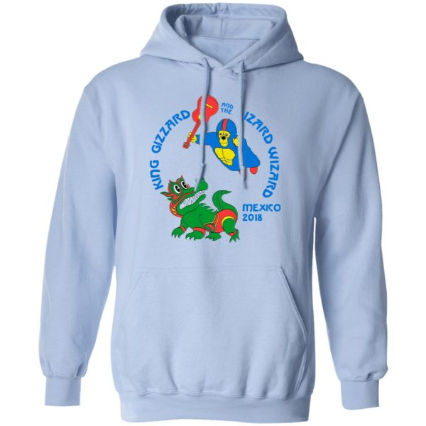 King Gizzard And The Lizard Wizard Mexico 2018 Shirt, Hoodie, Tank Apparel 18