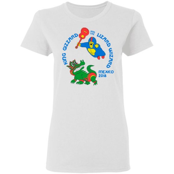 King Gizzard And The Lizard Wizard Mexico 2018 Shirt, Hoodie, Tank Apparel 8