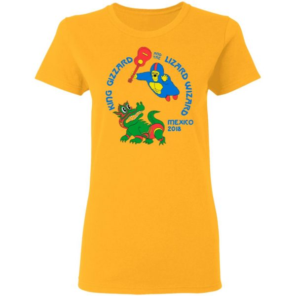 King Gizzard And The Lizard Wizard Mexico 2018 Shirt, Hoodie, Tank Apparel 9