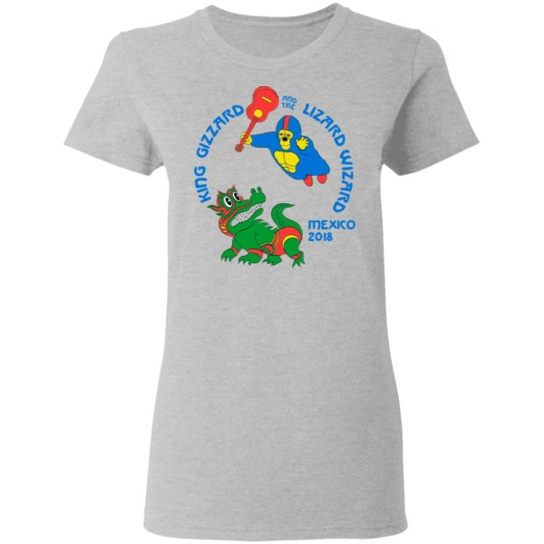 King Gizzard And The Lizard Wizard Mexico 2018 Shirt, Hoodie, Tank Apparel 10