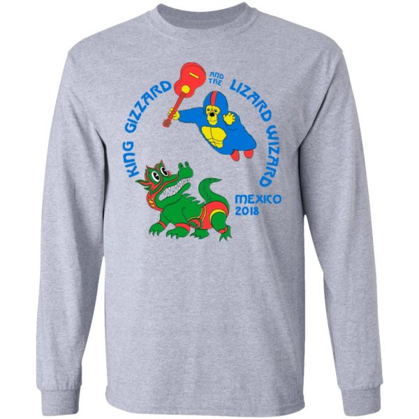King Gizzard And The Lizard Wizard Mexico 2018 Shirt, Hoodie, Tank Apparel 11