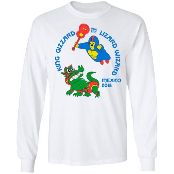 King Gizzard And The Lizard Wizard Mexico 2018 Shirt, Hoodie, Tank Apparel 12