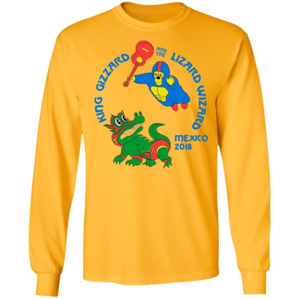 King Gizzard And The Lizard Wizard Mexico 2018 Shirt, Hoodie, Tank Apparel 13