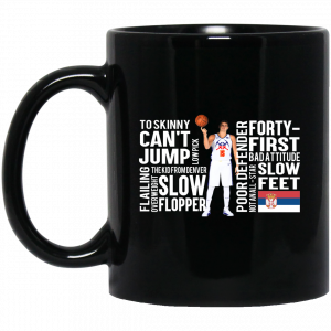 Too Skinny Can't Jump Low Pick The Kid From Denver Mug Coffee Mugs