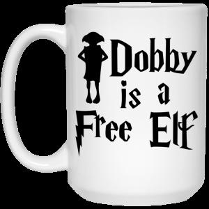Dobby Is A Free Elf Harry Potter Mug Coffee Mugs 2