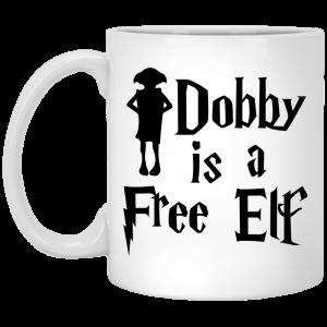 Dobby Is A Free Elf Harry Potter Mug Coffee Mugs