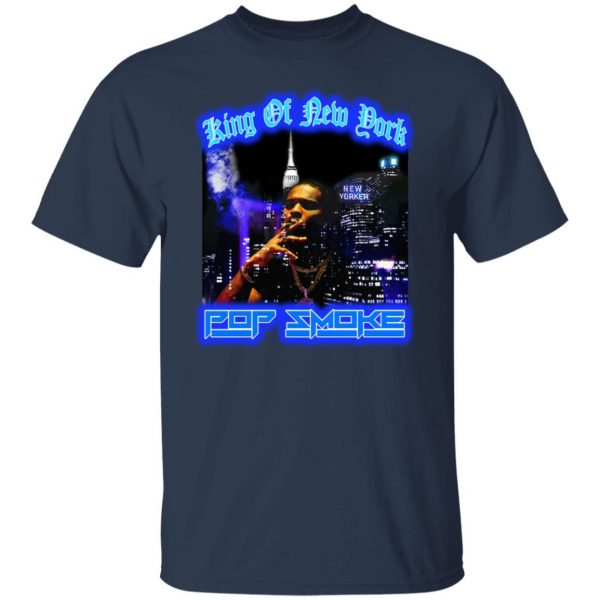 King Of New York Pop Smoke Shirt, Hoodie, Tank Apparel 5