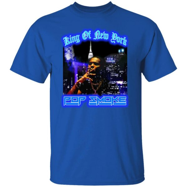 King Of New York Pop Smoke Shirt, Hoodie, Tank Apparel 6