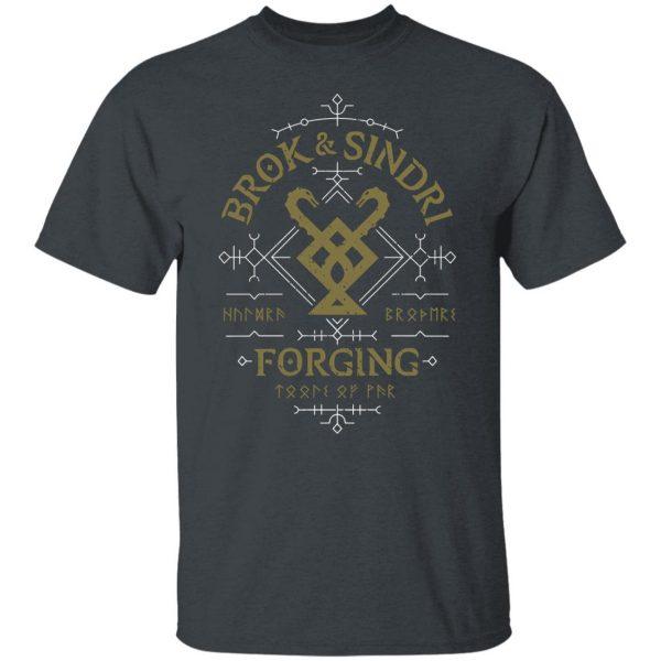 God Of War Brok & Sindri Forging Shirt, Hoodie, Tank Apparel 4