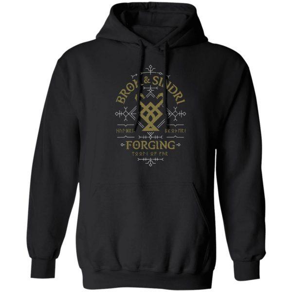 God Of War Brok & Sindri Forging Shirt, Hoodie, Tank Apparel 11
