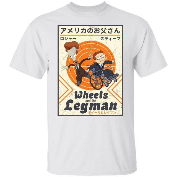 Wheels And The Legman Shirt, Hoodie, Tank Apparel 4
