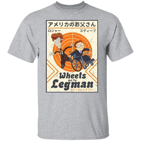 Wheels And The Legman Shirt, Hoodie, Tank Apparel 5