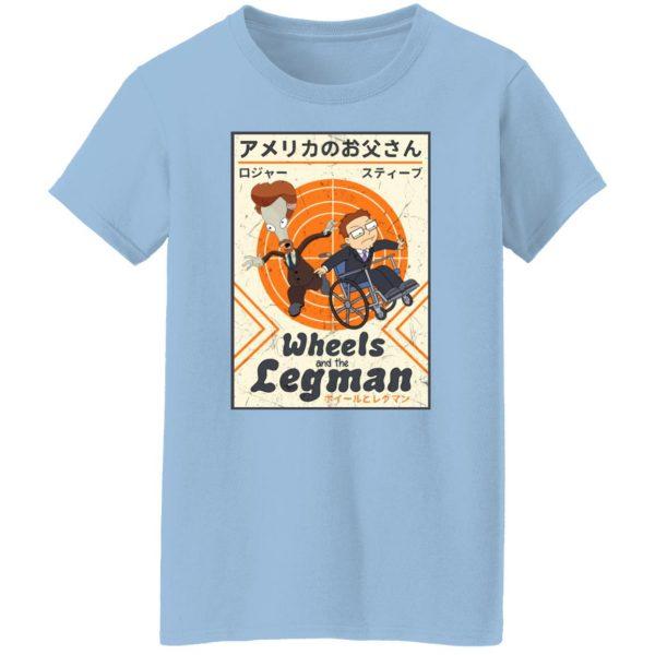 Wheels And The Legman Shirt, Hoodie, Tank Apparel 6